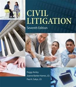 Civil Litigation 7 9781285449180