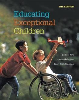 Educating Exceptional Children 14 9781285451343