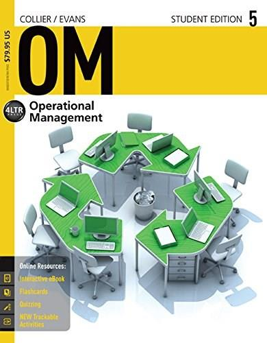 OM, by Collier, 12th Edition 5 PKG 9781285451374