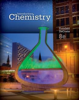 Introductory Chemistry, by Zumdahl, 8th Edition 9781285453132