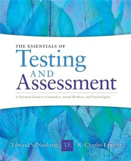 Essentials of Testing and Assessment: A Practical Guide for Counselors, Social Workers, and Psychologists 3 9781285454245