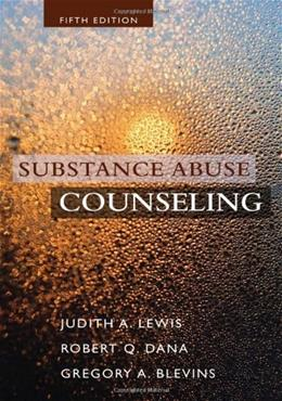 Substance Abuse Counseling 5 9781285454375