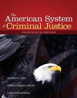 American System of Criminal Justice 14 9781285458991