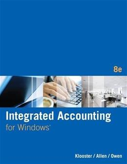 Integrated Accounting (with General Ledger CD-ROM) 8 w/CD 9781285462721