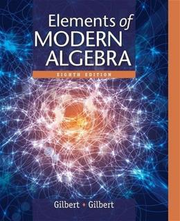 Elements of Modern Algebra 8 9781285463230
