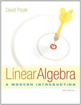 Linear Algebra: A Modern Introduction 4 9781285463247