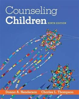 Counseling Children 9 9781285464541