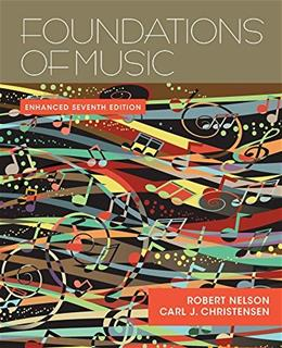 Foundations of Music (Book Only) 7 9781285464756