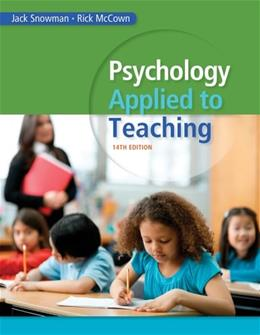 Psychology Applied to Teaching 14 9781285734552