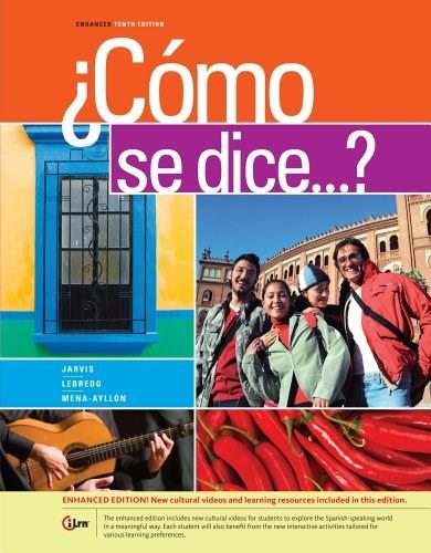 ¿Como se dice...?, by Jarvis, 10th  Enhanced Edition 9781285738628