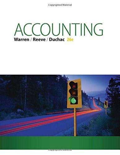 Accounting (Text Only) 26 9781285743615