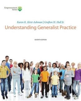Brooks/Cole Empowerment Series: Understanding Generalist Practice (with CourseMate, 1 term (6 months) Printed Access Card) 7 PKG 9781285748023