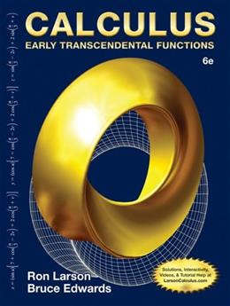 Calculus: Early Transcendental Functions 6 9781285774770