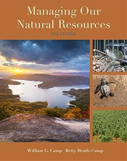 Managing Our Natural Resources, by Camp, 6th Edition 9781285835075