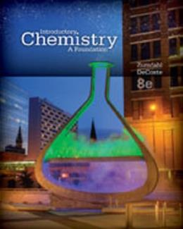 Introductory Chemistry: A Foundation, by Zumdahl, 8th Edition, Study Guide 9781285845173