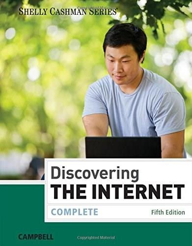 Discovering the Internet: Complete 5 9781285845401