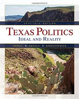 Texas Politics 2015-2016 (with MindTap Political Science, 1 term (6 months) Printed Access Card) (Texas: Its a State of MindTap) 13 PKG 9781285853147