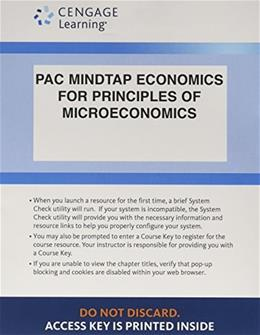 Principles of Microeconomics, by Mankiw, 7th Edition, ACCESS CODE ONLY 7 PKG 9781285853185