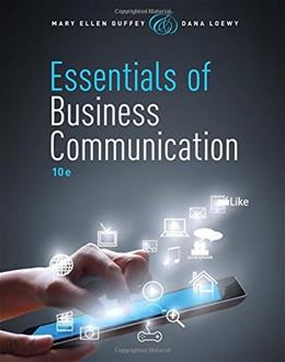 Essentials of Business Communication (with Premium Website, 1 term (6 months) Printed Access Card) 10 PKG 9781285858913
