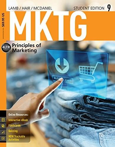 MKTG 9 (with Online, 1 term (6 months) Printed Access Card) (New, Engaging Titles from 4LTR Press) 9 PKG 9781285860169