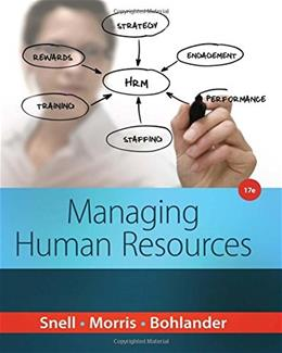 Managing Human Resources 17 9781285866390
