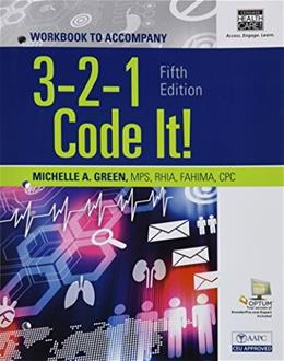 3,2,1 Code It!, by Green, 5th Edition, WORKBOOK 9781285867229