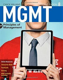 MGMT: Principles of Management (Book and Coursemate Access Card) (New, Engaging Titles from 4LTR Press) 8 PKG 9781285867502
