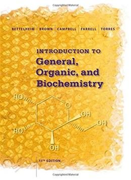Introduction to General, Organic and Biochemistry 11 9781285869759