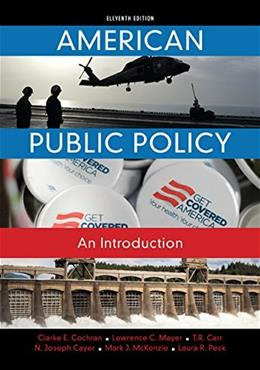 American Public Policy: An Introduction 11 9781285869773