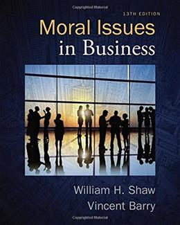 Moral Issues in Business 13 9781285874326