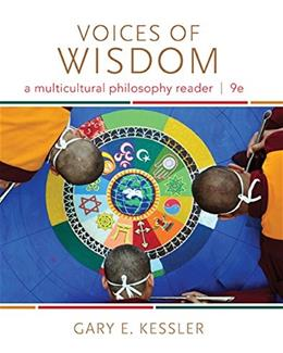Voices of Wisdom: A Multicultural Philosophy Reader 9 9781285874333