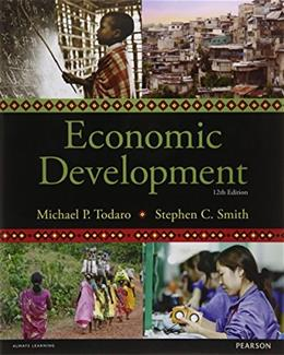 Economic Development, by Smith, 12th Edition 9781292002972