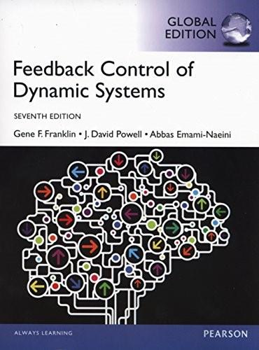 Feedback Control of Dynamic Systems, Global Edition 7th Revise 9781292068909