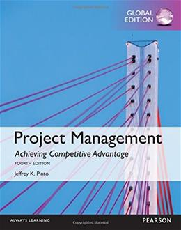Project Management: Achieving Competitive Advantage 4th Intern 9781292094793