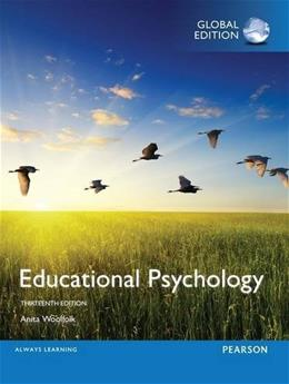 Educational Psychology 13th Inter 9781292095301