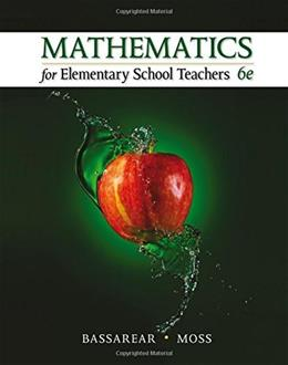 Mathematics for Elementary School Teachers 6 9781305071360