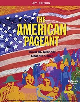 American Pageant 16th AP Edition 9781305075917