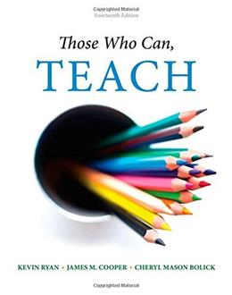 Those Who Can, Teach 14 9781305077690