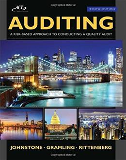 Auditing: A Risk Based-Approach to Conducting a Quality Audit 10 PKG 9781305080577