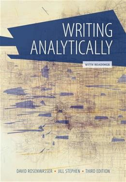 Writing Analytically with Readings 3 9781305081413