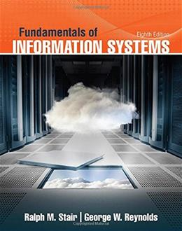 Fundamentals of Information Systems 8 9781305082168