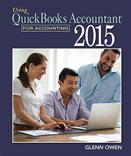 Using QuickBooks Accountant 2015 for Accounting, by Owen BK w/CD 9781305084773