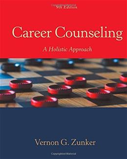Career Counseling: A Holistic Approach 9 9781305087286