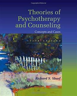 Theories of Psychotherapy & Counseling: Concepts and Cases 6 9781305087323
