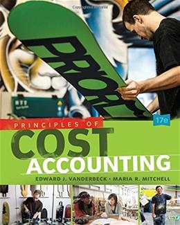 Principles of Cost Accounting 17 9781305087408