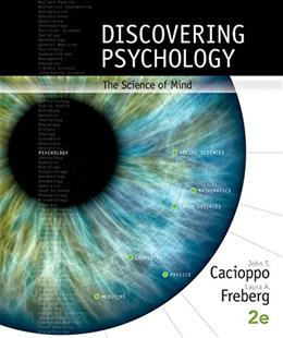 Discovering Psychology: The Science of Mind 2 9781305088375