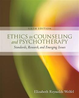Ethics in Counseling & Psychotherapy 6 9781305089723