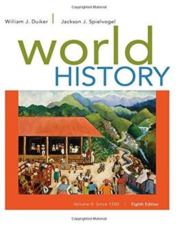 2: World History, Volume II: Since 1500 8 9781305091221