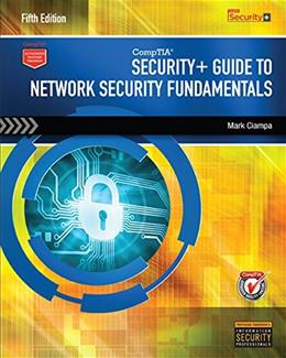 CompTIA Security+ Guide to Network Security Fundamentals (with CertBlaster Printed Access Card) 5 PKG 9781305093911