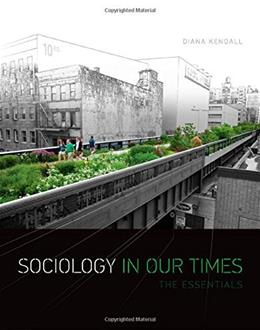 Sociology in Our Times: The Essentials 10 PKG 9781305094154